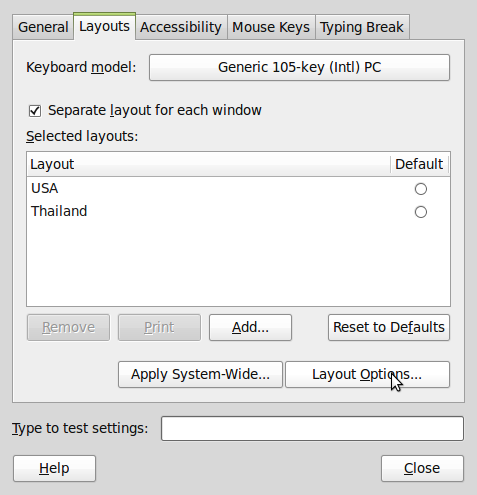 how to add accent grave with keyboard